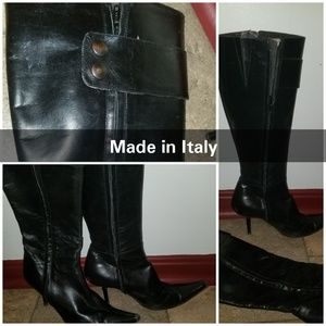Shoes - Knee high boots, purchased in Italy